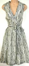 Top Quality NEXT Ladies Floral Print Summer Dress Size 10 - 26 12 Viscose Zip Dress