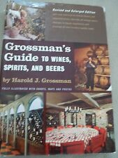 Grossman's Guide to Wines, Spirits and Beers 1964 Vintage Copy