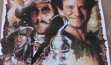 """AFFICHE CINEMA """"Hook ou la revanche du Capitaine Crochet"""" avec D. Hoffman 1991"""