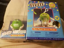 M&M's both green Motor Mates & mini plush green radio w/headset both new in box