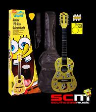 SpongeBob SquarePants Junior Nylon String Classical Guitar Pack