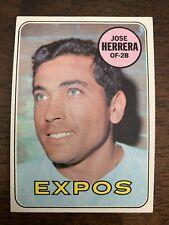1969 Topps Baseball Jose Herrera #378