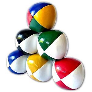 3 x Professional Quality Juggling Balls <120g 'Thuds - Choose colour - SEE VIDEO
