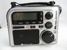 Midland Radio Flashlight Power Dynamo Hurricane safety Alert
