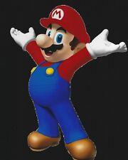 Super Mario Bros 8x10 Photo Super Nintendo Video Game World Land Cart Galaxy PS3