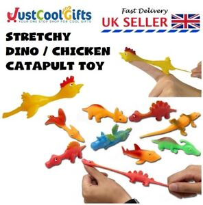 Stretchy Fidget Flying Dinosaur Party Bag Fillers Gift Tangle Autism ADHD Toy UK