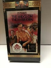 The Bridge on the River Kwai Vhs Columbia Classics New Digitally Remastered