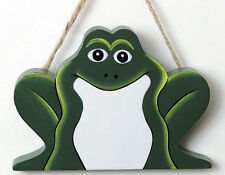 FROG use 3 ways HANG magnet SHELF SITTER frogs country kitchen decor sign