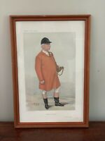 The Master Of The Heythrop VANITY FAIR CARICATURE SPY  FRAMED ART Print