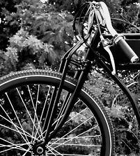 raw girder truss board track racer fork bike indian vintage non springer cafe