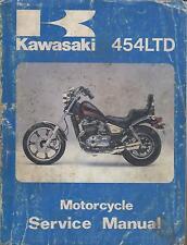 1984 KAWASAKI MOTORCYCLE 454LTD  P/N 99924-1056-01 SERVICE MANUAL (309)