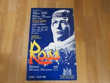 ROSS the T E Lawrence Terence Rattigan Play Original Old VIC Theatre Poster