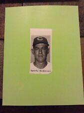 Sparky Anderson Press Photo 1970 original MLB baseball legend picture Cleveland