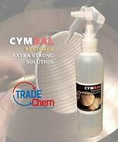 CYMBAL RESTORER Extra Strong Solution 250ml Supreme Cleaning Action Trade Chem