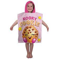 Shopkins Shopaholic Hooded Poncho Towel Kids Bath Beach Towel New 100% Official