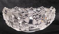 Mikasa Crystal Glass Bowl Carmen Pattern Embossed