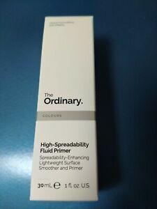 The Ordinary High-Spreadability Fluid Primer 30ml NEW! AUTHENTIC