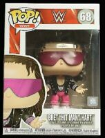 Bret Hit Man Hart WWE Funko Pop Vinyl New in Box