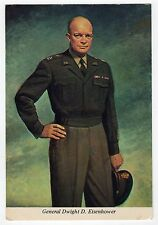 DWIGHT IKE EISENHOWER POLITICAL Postcard PC President GENERAL Military WWII