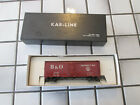 HO SCALE VINTAGE KAR-LINE ATHEARN BALTIMORE AND OH 40 FOOT BOX CAR SPRING TRUCKS