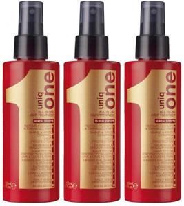 Pack Of 3 Revlon Professional Uniq One Hair Treatment, 150Ml.