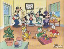 uganda block122 (complete issue) unmounted mint / never hinged 1990 Walt-Disney-