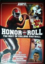 ESPN HONOR ROLL Vol 1 The BEST of COLLEGE FOOTBALL Elway Montana The Mannings