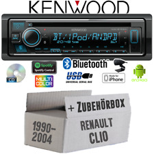 Kenwood Radio for Renault Clio1 +2 Bluetooth Spotify IPHONE Android CD/MP3/USB