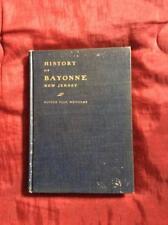 RARE 1904 HISTORY OF BAYONNE NJ NEW JERSEY ANTIQUE