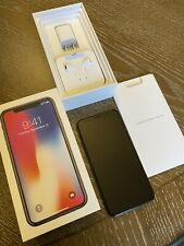 New listing Apple iPhone X - 64Gb - Space Gray (Unlocked) A1901 (Gsm) With Waterproof Case +