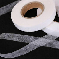 70 Yards Iron On Fusible Interfacing Interlining Fabric 2 Side Tape Sewing Cloth