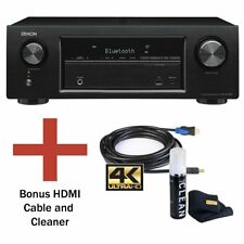Denon AVR-S540BT 5.2 Ch. 4K Ultra HD AV Receiver with Bluetooth and Bundle