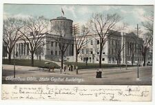 [60851] 1905 POSTCARD STATE CAPITAL BUILDINGS IN COLUMBUS, OHIO