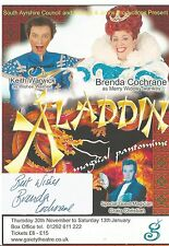 Genuine Hand Signed Autographed Theatre leaflet - Brenda Cochrane