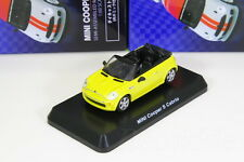 Kyosho 1/60 MINI Cooper S Cabrio Yellow MINI Cooper 2016 Japan Limited 64