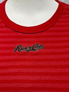 Sacramento River Cats Woman's size X-Large Baseball T-shirt