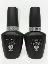 CUCCIO Colour Veneer - LED/UV Gel Polish Match Makers - BASE & TOP COAT DUO
