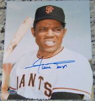 SALE! Vintage Willie Mays Signed Autographed 8x10 Baseball Photo SGC COA!