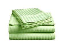 Egyptian Cotton 1000 Thread Count Deep Pocket Bedding Items AU Sizes Sage Stripe