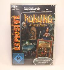 Konung 2 + 3 Game Pack (PC, 2012, DVD-Box) - PC Spiel Neu - Top!