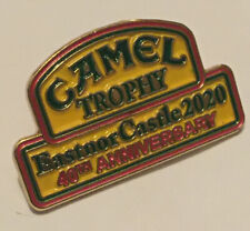 Camel Trophy 40th Anniversary Pin Badge - Land Rover Eastnor Castle