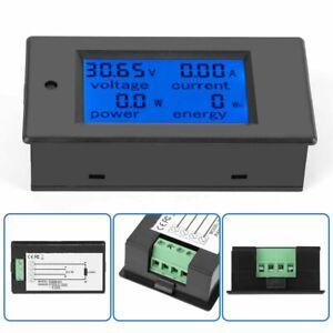 PEACEFAIR PZEM-031 DC 6.5-100V LCD Digital Power Energy Voltage Current Meter GB