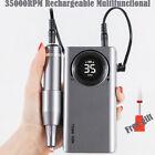 Pro 35000RPM Rechargeable Electric Nail Drill Machine Portable Manicure Pedicure