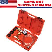 New Cooling System Vacuum Radiator Kit Refill & Purge Set Universal Auto Tools