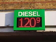 LED Petrol Station Price Board Digital WIFI Sign Panel Scoreboard / Counter