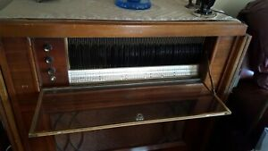 Vintage 1952 Seeburg Select-o-Matic 200C1--Not working -- Includes all 100 45's