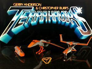 TERRAHAWKS   Vintage Bandai Ship Collection   1983
