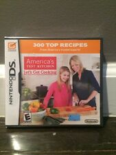 Nintendo DS America's Test Kitchen: Let's Get Cooking - - NEW w/ free ship!