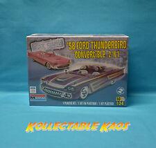 1:24 Monogram - 1958 Ford Thunderbird Convertible 2 'n 1 Model Kit(85-4280)