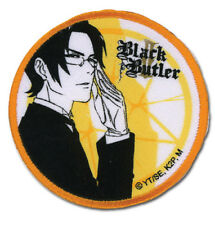 Black Butler 2 Claude & Contract Round Patch by GE Animation 44526 Free Shipping